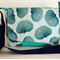 Peacock Handmade Messenger Bag - Teal colour- One of A Kind -