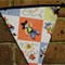 Bunting - Cute cowboys and cowgirls and little aeroplanes
