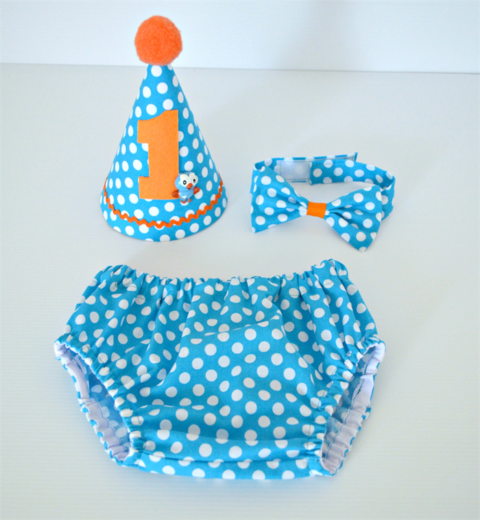 Giggle Hoot 1st Birthday Outfit Cake Smash Set