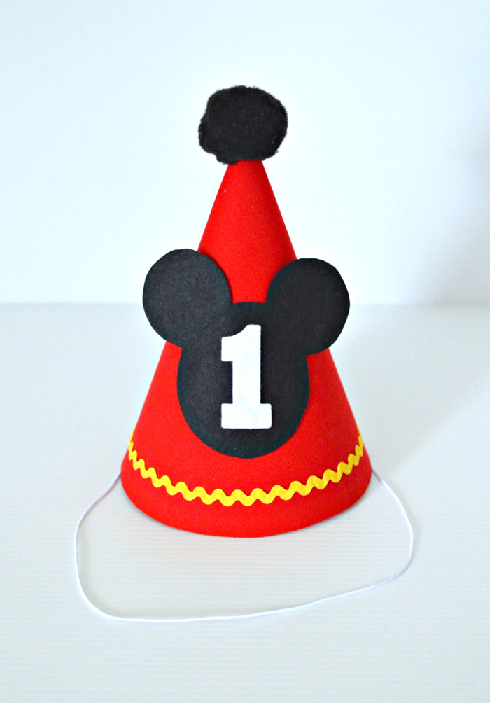 Mickey Mouse 1st Birthday Outfit Cake Smash Set