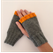 'Tango Pop' Orange - Gloves, Fingerless Mitts, Wrist Warmers, Knuckle Cuddles.