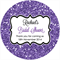 Personalised bridal shower glitter bling stickers favours gifts seal seals