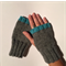 'Tango Pop' Aqua - Gloves, Fingerless Mitts, Wrist Warmers, Knuckle Cuddles.