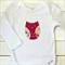 baby owl   applique onesie      newborn girls gift