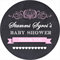 Personalised bridal shower chalk board chalkboard sign stickers gift