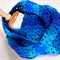 Infinity Scarf Snood blue
