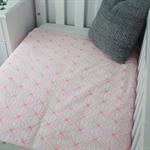 cot bedding, baby bedding, baby girl bedding, bright baby bedding, baby cot duve