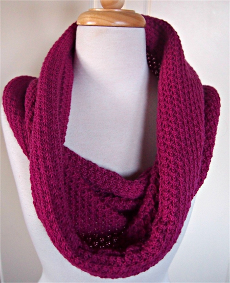 Infinity Scarf Reversible Cowl