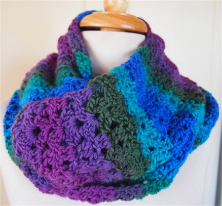Crochet Scarf Snood