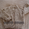 SIZE 2-3 yrs -cardigan in camel & dark brown: Acrylic Unisex, Washable