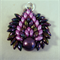 Peacock Pendant - Purple