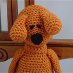 Dani Bear : crochet, safe, OOAK, washable, unisex, baby shower, by CuddleCorner
