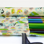 Mermaid Pencil Roll Includes 12 Quality Staedtler Pencils + One HB Pencil