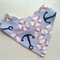 Anchor nautical bandana bib