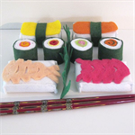 Japanese Felt Food Set, Sushi Play Food