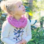 infinity scarf | crochet wool | girls