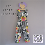 Geo Garden Jumpsuit