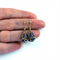 Nepalese Teardrop Lapis Lazuli Earrings