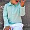 boys shirt - mint long sleeved shirt