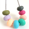 Washable Donut Bead Silicone Necklace