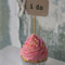 30 i do Cupcake Toppers with White Satin Ribbon ~ Weddings ~ Bridal Showers