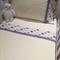 Handmade lemon 3 piece cot or toddler bed sheet set. Cotton