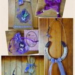 Fibromyalgia Gift Pack - Rustic Horseshoe 3D Wall Art