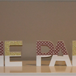 Decorative Wooden Letters\Words - Personalised With Any Colour\Occasion in Mind