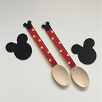 Mickey mouse dessert spoons