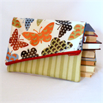 LARGE FOLDOVER CLUTCH - Fits Ipad plus more!