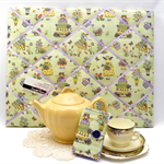 Ribbon/Memo Board & Tea Purse SET