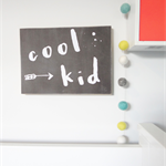 Cool Kid Wall Art Shelfie