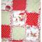 Vintage Zoo Baby Bassinet/Pram Quilt