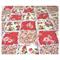 Spring Flowers Baby Bassinet/Pram Quilt