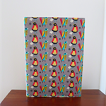 Retro Fabric Notebook Journal Cover