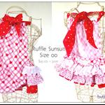 Ruffle Sunsuit  Size  00