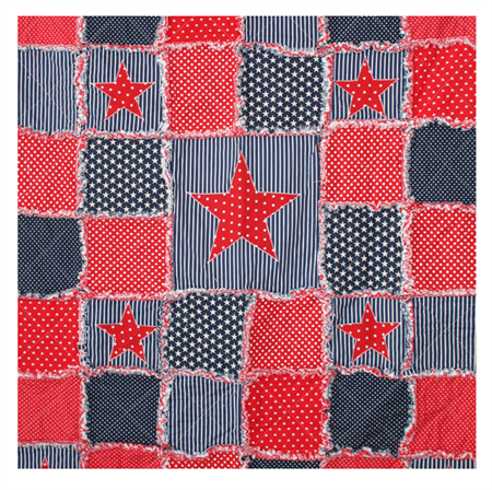 """Star Gazing"" Cot Quilt"