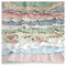 """""""Vintage Flowers""""  Ruffled Cot Quilt"""
