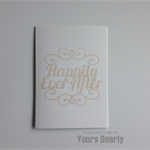Happily Ever After V1 Wedding Card