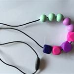 SiliconeTeething Necklace (BPA FREE)
