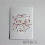 Happily Ever After V2 Wedding Card