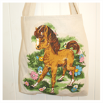Vintage Tote / Library / Enviro Shopping Bag