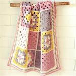 RESERVED  - crochet baby blanket