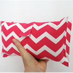 Nappy Wallet - Hot Pink Chevron