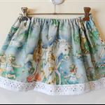 Vintage Vintage girls unicorn riders swing skirt