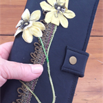 Vintage Flowers... very unique ladies wallet, no tow the same.