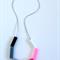 Silicone Block Necklace
