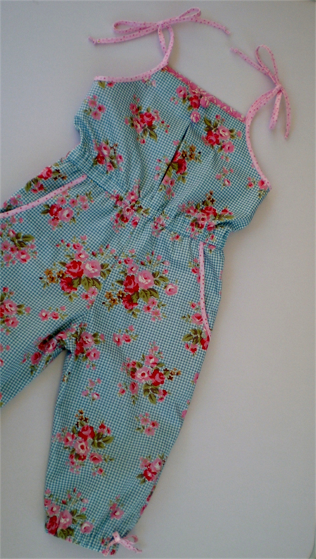 Spring Blossoms Jumpsuit