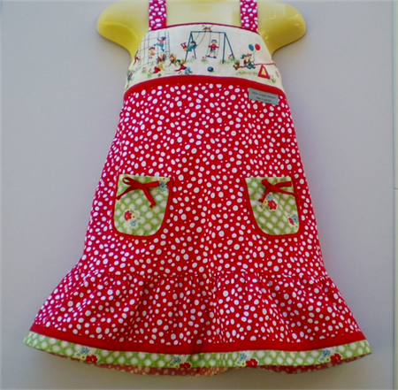 Playground Red Spotty Sundress