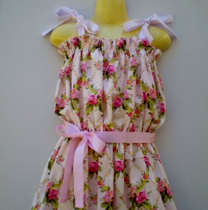 Summer Fun and Roses Sundress